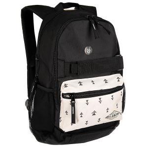Рюкзак спортивный  Crew Off Black Billabong. Цвет: бежевый,черный