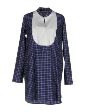 Короткое платье ..,MERCI. Цвет: синий