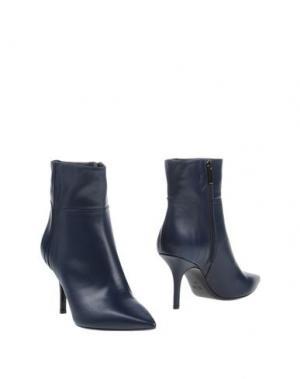 Полусапоги и высокие ботинки MARCO BARBABELLA. Цвет: грифельно-синий