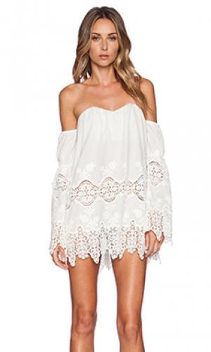 Платье marrakech STONE_COLD_FOX. Цвет: белый