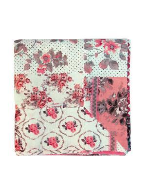 Скатерти квадратные с лопухами Лоскутклаб. Цвет: розовый