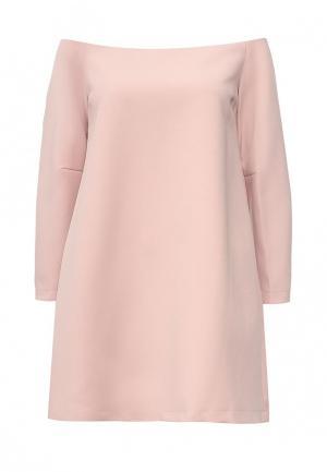 Платье BCBGMAXAZRIA. Цвет: розовый