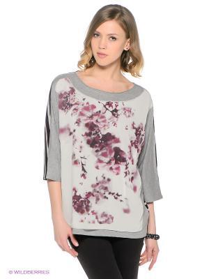 Кофточка S.OLIVER. Цвет: серый меланж, молочный, розовый, черный