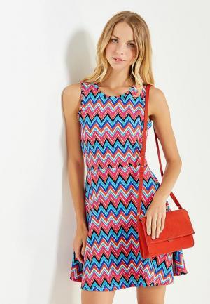 Платье Твое. Цвет: разноцветный