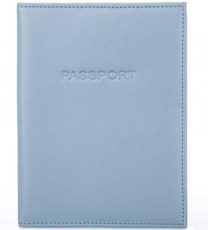 Кожаная обложка для паспорта Picard. Цвет: синий