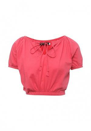 Блуза Emoi. Цвет: розовый