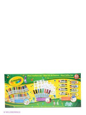 Набор фломастеров Crayola. Цвет: зеленый, желтый