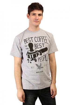 Футболка  Coffee Grey Anteater. Цвет: серый