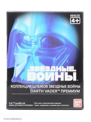 Star Wars ШЛЕМ на подставке ДАРТ ВЕЙДЕР голографический 6,5см Bandai. Цвет: черный