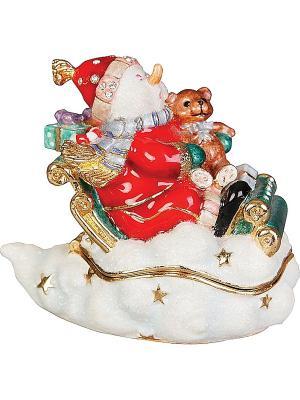 Шкатулка Mister Christmas. Цвет: красный