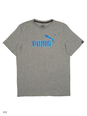 Футболка Hero Tee Puma. Цвет: серый