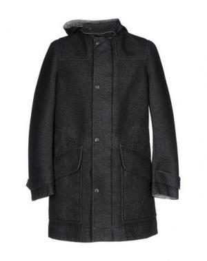 Легкое пальто NEMEN. Цвет: стальной серый