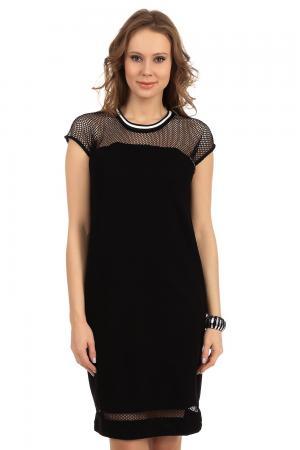 Платье Oui. Цвет: чёрный