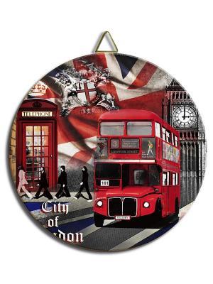 Керамическая подставка Gift'n'Home. Цвет: красный, белый, коричневый, серый, черный