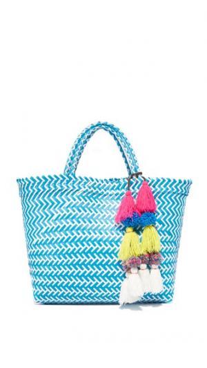 Объемная сумка с короткими ручками Mercado MISA