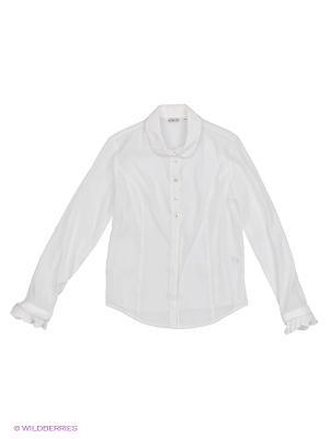Блузка Cleverly. Цвет: кремовый