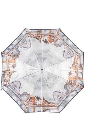 Зонт Eleganzza. Цвет: антрацитовый, коричневый, светло-серый