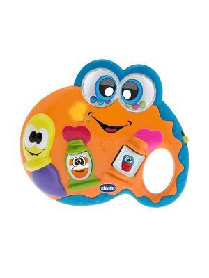 Музыкальная игрушка Палитра CHICCO. Цвет: оранжевый, голубой