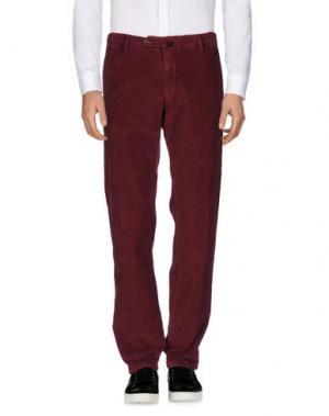 Повседневные брюки J.W. BRINE. Цвет: красно-коричневый