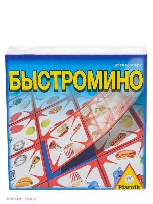 Настольная игра Быстромино Piatnik. Цвет: синий, желтый, зеленый, красный, салатовый