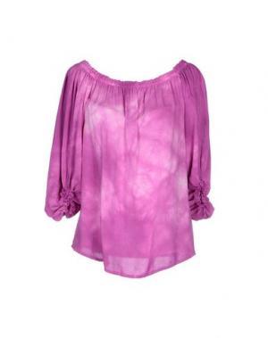Блузка MONICA •LENDINEZ. Цвет: фиолетовый