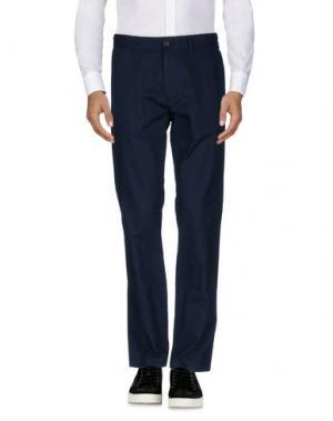 Повседневные брюки CLUB MONACO. Цвет: темно-синий