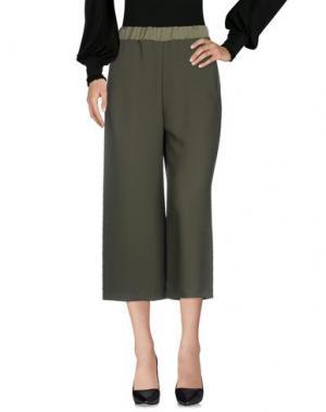 Повседневные брюки SHIRTAPORTER. Цвет: зеленый-милитари