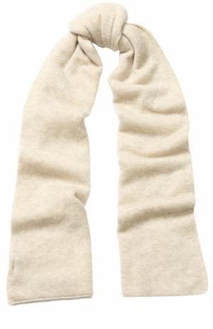 Кашемировый шарф TSUM Collection. Цвет: светло-бежевый