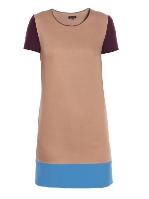 Платье Sarafan. Цвет: бежевый