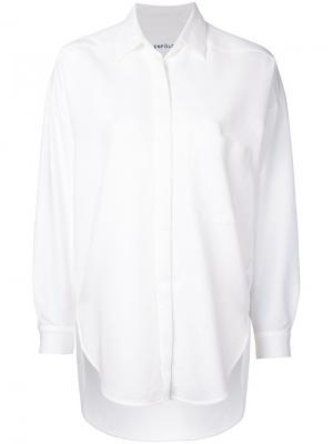 Длинная рубашка Enföld. Цвет: белый