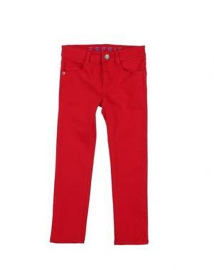 Джинсовые брюки ESPRIT. Цвет: красный