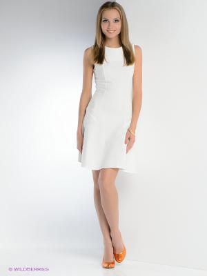 Платье FRENCH HINT. Цвет: белый