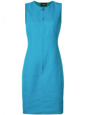 Двухстороннее платье Akris. Цвет: синий
