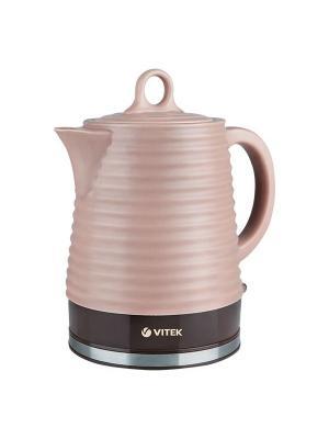 Чайник электрический Vitek VT-1135(BN). Цвет: коричневый