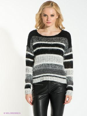 Джемпер Vero moda. Цвет: черный, серый, белый