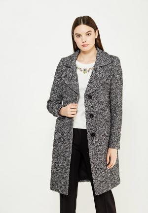 Пальто Twin-Set Simona Barbieri. Цвет: серый
