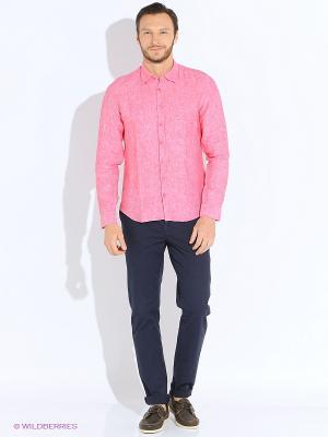 Рубашка Alfred Muller. Цвет: коралловый
