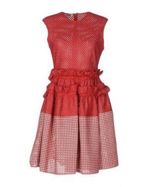 Короткое платье JOURDEN. Цвет: красный