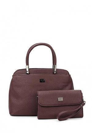 Комплект сумок 2 шт. Janes Story Jane's. Цвет: бордовый