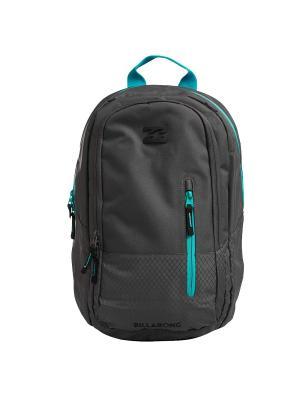 Рюкзак SHADOW BILLABONG. Цвет: бирюзовый, антрацитовый
