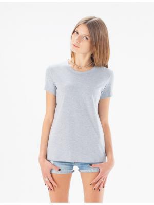 Серая женская футболка Eniland. Цвет: серый