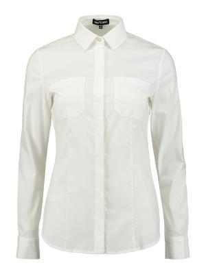 Рубашка Who is. Цвет: белый