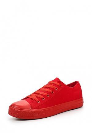 Кеды Tony-p. Цвет: красный