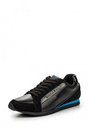 Кроссовки Versace Jeans. Цвет: черный