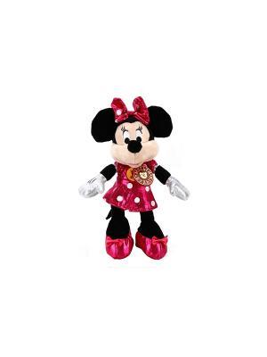 Мягкая игрушка  Disney. минни маус Мульти-пульти. Цвет: черный, малиновый