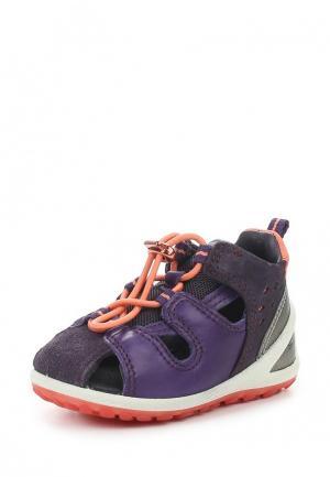 Кроссовки Ecco. Цвет: фиолетовый