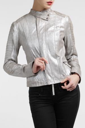 Куртка Cruse. Цвет: серебряный