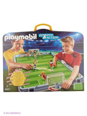 Футбол: Большая футбольная арена, возьми с собой Playmobil. Цвет: зеленый