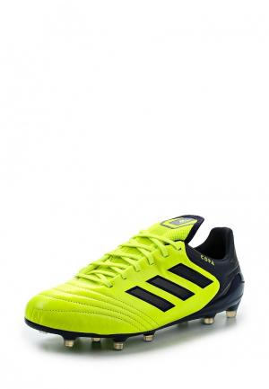 Бутсы adidas Performance. Цвет: зеленый
