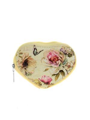 Кошелек Migura. Цвет: бежевый, розовый
